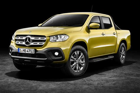 New Mercedesbenz Xclass Pickup Revealed In Full By Car