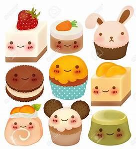 20892880-Collection-of-Cute-Dessert--Stock-Vector-cartoon ...