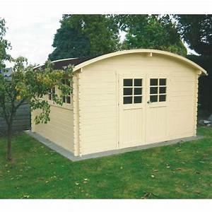 brise vue bois abri de jardin en bois certifi toit plat With exceptional maison toit plat bois 17 madrier dimension