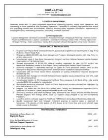 resume sle for logistics transportation and logistics resume sales logistics lewesmr