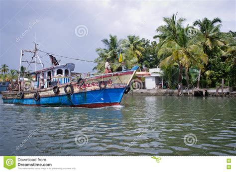 Kerala Fishing Boat Picture by Indian Fishing Boats In Kerala Editorial Photography