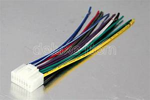Auto Car Stereo Wiring Harness Plug Adapter Audio Cable Wiring Diagram