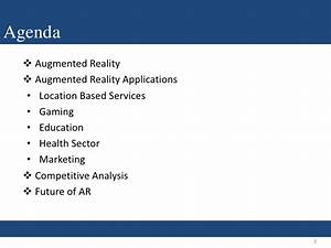 Business Perspective- Augmented Reality