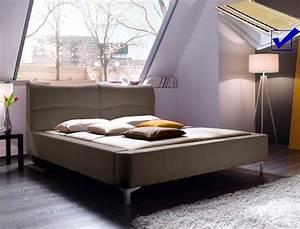 Bett 160x200 Mit Lattenrost : polsterbett cloude bett 160x200 cm cappuccino mit lattenrost matratze wohnbereiche schlafzimmer ~ Indierocktalk.com Haus und Dekorationen