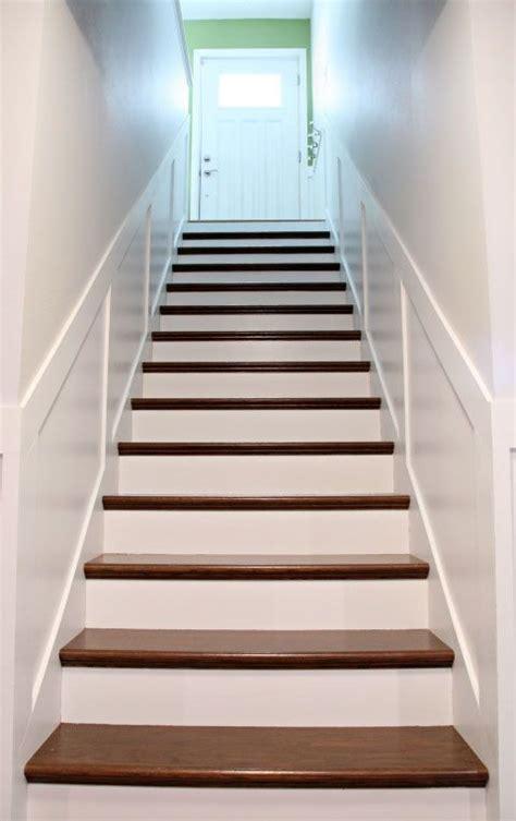 stair treads ideas  pinterest wood stair
