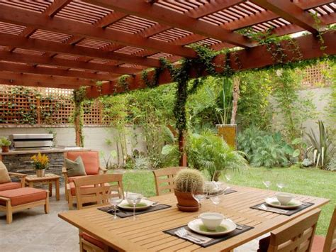 Landscape And Patio Design by 15 Ideas For Landscaping Around A Deck Or Patio Hgtv