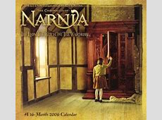 2006 Narnia The Lion, the Witch and the Wardrobe Calendar