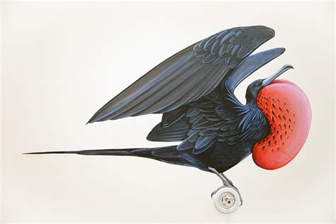 cornells enormous  mural depicts  living bird