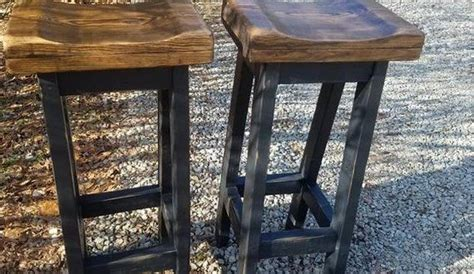 farmhouse bar stools lot   rustic farm house kitchen