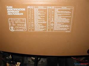 88 Bronco Fuse Chart
