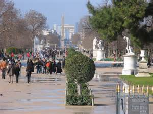 Jardin De Tuileries Paris