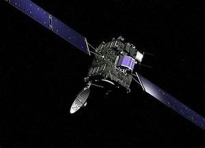Space in Images - 2008 - 08 - Rosetta spacecraft