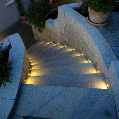 Stufenbeleuchtung Außen by Led Bodeneinbaustrahler Moderne Ideen