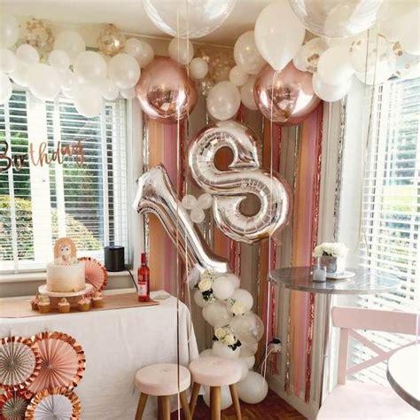 idees pour la meilleure decoration anniversaire  ans