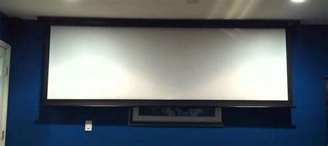 Best Motorized Projector Screens 2019 Size/Price Compared