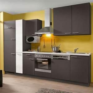 Küchenzeile 310 Cm Mit Elektrogeräten : k chenblock mit elektroger ten 310 cm ~ Bigdaddyawards.com Haus und Dekorationen