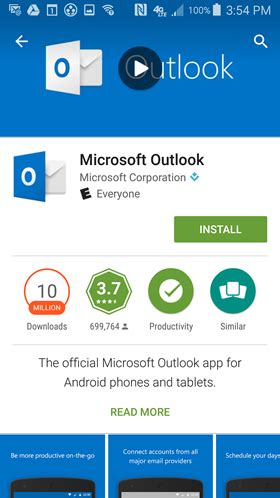 Office 365 Mail For Android by How To Configure The Android Outlook App For Office 365
