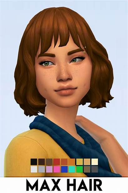 Hair Sims Cc Max Maxis Match Vikai