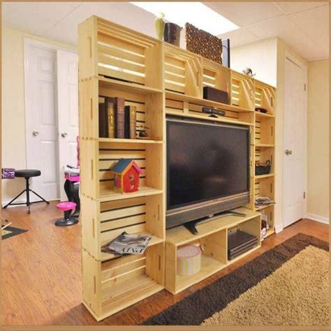 muebles hechos  cajas de madera muebles diydecoratrucos