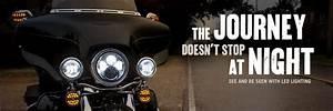 Motorcycle led lights brake head light kits