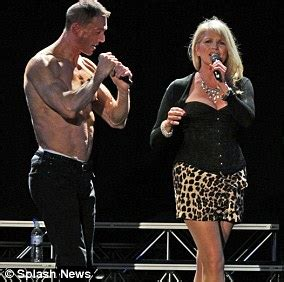 Tight Fit resurface and the lead singer is very buff ...