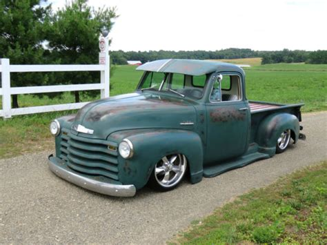 1953 Chevrolet Truck by 1953 Chevrolet Truck 3100 5 Window Bed Patina 1 2