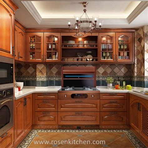 Solid Wood Kitchen Cupboards by China Customized Kitchen Cabinets Manufacturers And