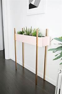 Jardiniere Interieur : diy r aliser une jardini re d int rieur floriane lemari ~ Melissatoandfro.com Idées de Décoration