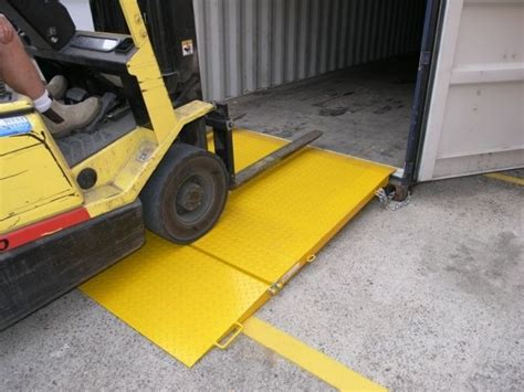 handling gear container ramp container ramps container
