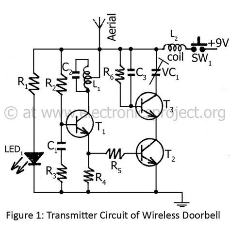 Transmitter Circuit Wireless Doorbell