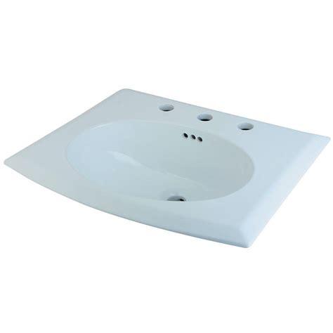home depot sinks drop in white ceramic drop in self sinks