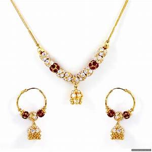 22ct Indian Gold Necklace Set (1) | Jewelry - Wish List ...