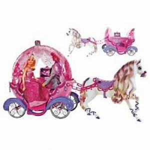 Barbie Horse & Carriage Toys Zavvi com