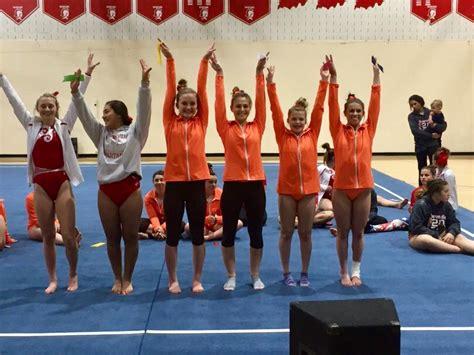 columbus east high school girls varsity gymnastics winter