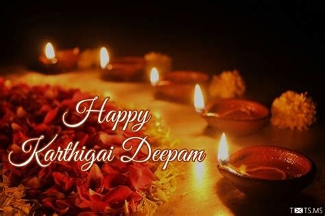 karthigai deepam wishes sms quotes images  facebook