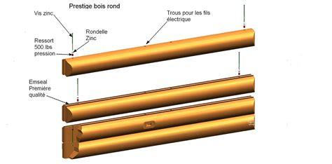 fil electrique pour le technique de fabrication prestige bois rond