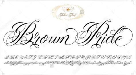 tattoo letter fonts  sample  format  premium templates