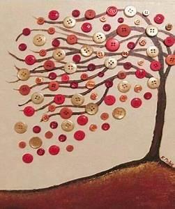 Bilder Mit Knöpfen : baum mit kn pfen bastelideen button art crafts und button crafts ~ Frokenaadalensverden.com Haus und Dekorationen