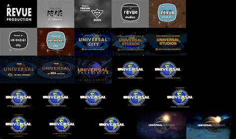 Revue Studios And Universal Tv Logo Remakes By Logomanseva