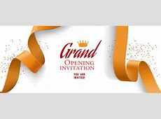 Opening Invitation Vectors, Photos and PSD files Free