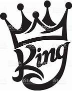 crown king typography ...