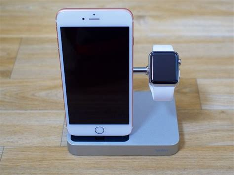 and iphone belkin debuts charge dock with integrated chargers