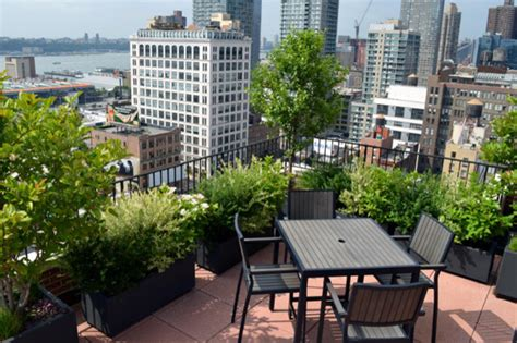 rooftop coop garden contemporary patio new york by