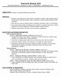 resume for medical pharmaceutical sales susan ireland With medical professional resume template