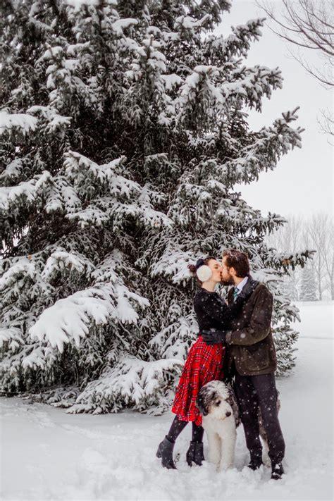 Walking in a Winter Wonderland Fashion couple Winter