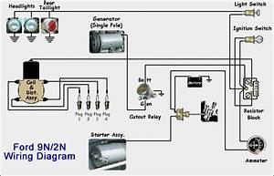 Pushbutton Starter Wiring For 9n