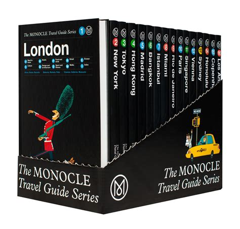 travel bureau gestalten the monocle travel guide bundle