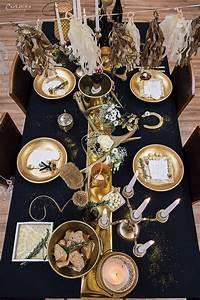 Silvester Deko 2017 : die besten 25 silvester deko schwarz gold ideen auf pinterest schwarz gold party schwarze ~ Frokenaadalensverden.com Haus und Dekorationen