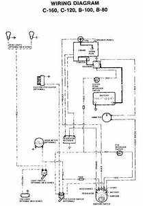 Tractor 1977 C-120  U0026 C-160 Wiring Only Pdf