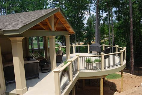 porch deck designs covered deck designs homesfeed